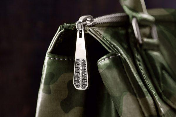 custom cordonia and sach zipper pull